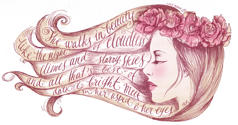Biljana Kroll's Portfolio: Calligraphy And Illustration Of